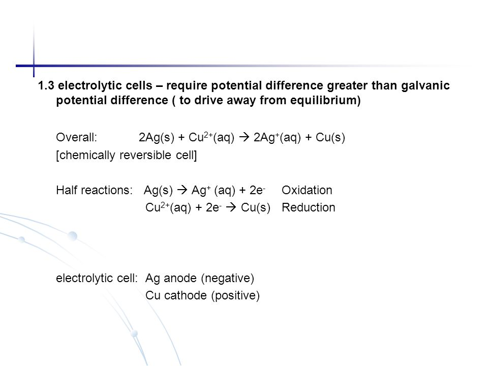 [chemically reversible cell]